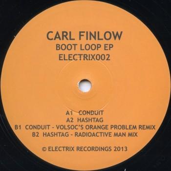 Carl Finlow - Boot Loop EP - Electrix 002