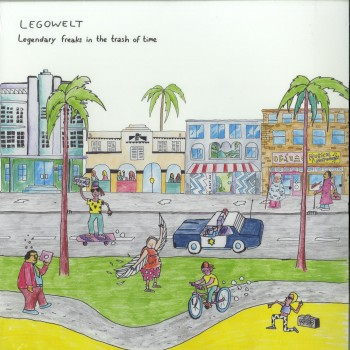 Legowelt - Legendary freaks In The Thrash Of Time (2X12 + DL CODE) - Clone West Coast Series