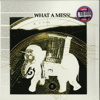 Pepe Bradock - What A Mess ! (LP, ALBUM, LTD 1000, SERIAL WHAT A MESS! MIXED TECHNIQUES) - Atavisme