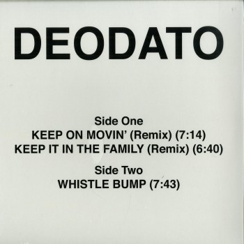 Deodato ‎– Keep On Movin' (Remix) - Groovin Recordings