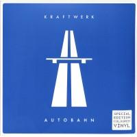 Kraftwerk – Autobahn Translucent Blue Clear Vinyl 12 page booklet - Parlophone
