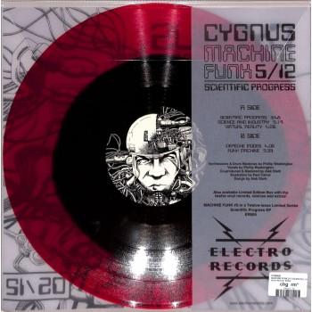 Cygnus Machine Funk 5/12 - Scientific Progress EP - Electro Records