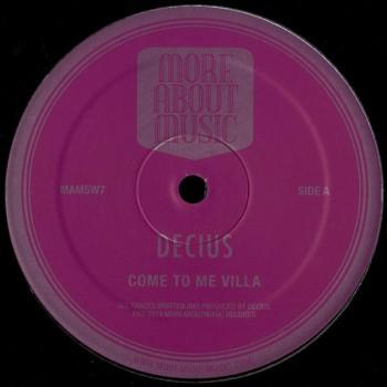 Decius - Come To Me Villa / Gay Futures - Moreaboutmusic
