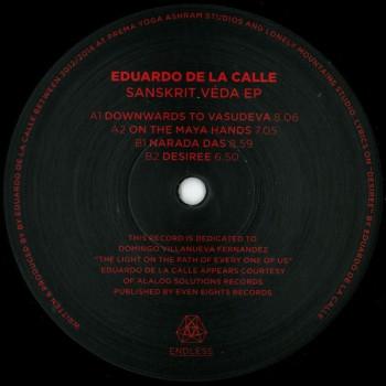 Eduardo De La Calle - Sanskrit Veda EP - Endless - NDL008