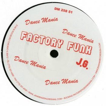 Jammin Gerald - Factory Funk - Dance Mania - DM 258 51