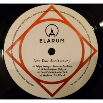 Various Felipe Venegas - One Year Anniversary Elarum