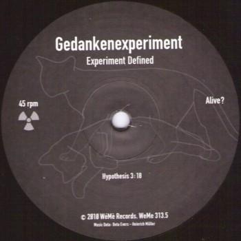 Gedankenexperiment - Experiment Defined - WeMe 313.5