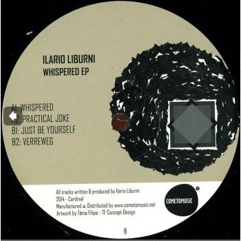 Ilario Liburni - Whispered EP (Vinyl Only) - Cardinal