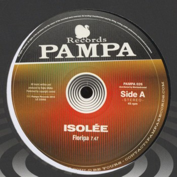 Isolee - Floripa - Pampa Records - PAMPA 026