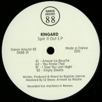 Ringard - Spin it Out EP - Dance Around 88