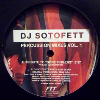 DJ Sotofett - Percussion Mixes Vol. 1 - Fit Sound - FIT-013