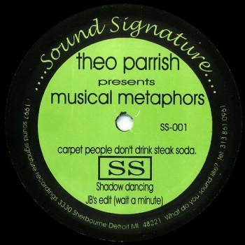 Theo Parrish - Musical Methaphors - Sound Signature