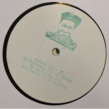 Tm Shuffle - Waterside Dubs EP - Outlaw - OUT08