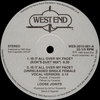 Loose Joints - Is it all over my face? - WEST END