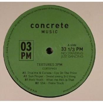 Various – Textures 3PM - Concrete Music 3PM - CCRT3PM01