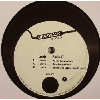 LOWRIS - APOLLO EP (ION LUDWIG) - CRAZY JACK RECORDS