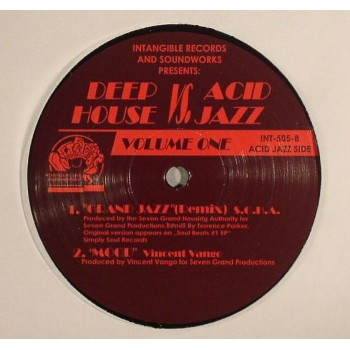 Various -Deep House Vs. Acid Jazz - Volume One - Intangible Records & Soundworks - INT-505