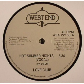 LOVE CLUB - HOT SUMMER NIGHTS - WEST END
