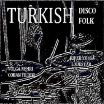 "Volga Nehri - Turkish Disco Folk, White Vinyl 7"" - ARSIVPLAK"