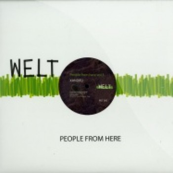 XANDRU - PEOPLE FROM HERE VOL 3 - WELT WLT003