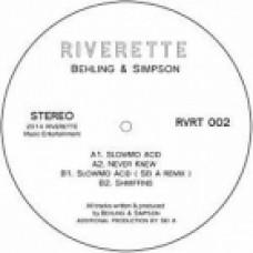 BEHLING & SIMPSON - SLOWMO ACID - RIVERETTE
