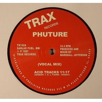 Phuture - Acid Tracks EP (Remastered) - Trax