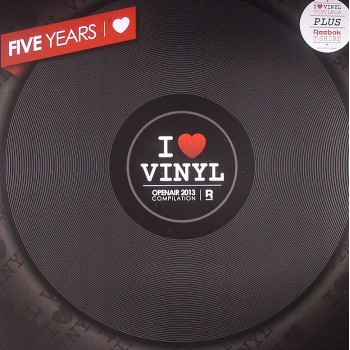 Various Artists - Open Air 2013 Compilation Box (Incl 2 I Love Vinyl Slipmats)