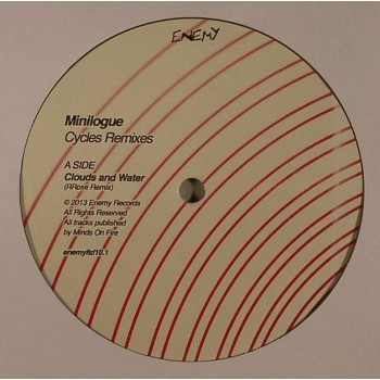 Minilogue - Cycles Remixes Part 1 (Clear Vinyl) - Enemy LTD