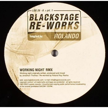 John Thomas - Blackstage Re-Works Pt 1 (ft Rolando & John Tejada) - Logistic