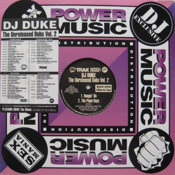 DJ Duke – The Unreleased Dubs Vol. 2 (Original 1994 Pressing) - Power Music