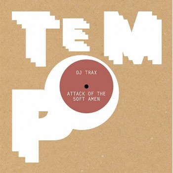 DJ Trax - Attack Of the 50ft Amen (Clear Vinyl + Download Code + Poster) - Tempo