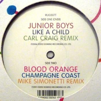 Junior Boys / Blood Orange - Carl Craig & Mike Simonetti Remixes