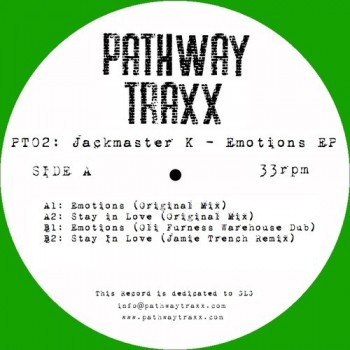 Jackmaster K - Emotions EP (Limited Green Vinyl) - Pathway Traxx