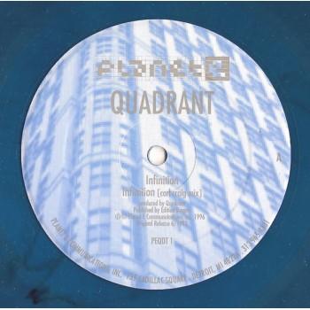 "Quadrant - Infinition - Limited Blue 12"" 1996"