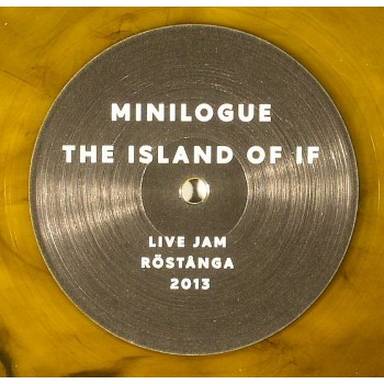Minilogue - The Island Of If (Orange and Black Marbled Vinyl) - Cocoon