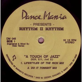 Rhythm II Rhythm – A Touch Of Jazz (Original Pressing) -  Dance Mania