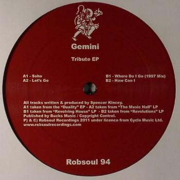 Gemini - Tribute EP - Robsoul 94