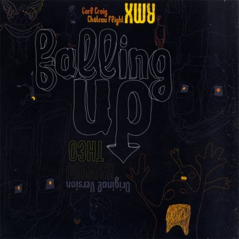 Theo Parrish - Falling Up (Original Version & Remixes) 2LP - Syncrophone