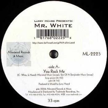 Larry Heard presents Mr White - Sun Can't Compare / You Rock Me - Alleviate