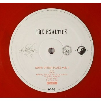 The Exaltics - Some Other Place Vol. 1 (Limited Red Vinyl) - Clone West Coast Series