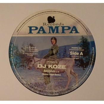 DJ Koze - Amygdala (Roman Flügel & Robag Wruhme Remixes) - Pampa 021