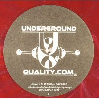 DJ Jus Ed - Endurance Part 2 (Marbled Vinyl) - Underground Quality