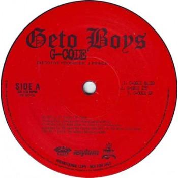 Geto Boys - G-Code / When I Gets Gangsta - Asylum