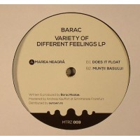 Barac Variety of Different Feelings LP - MTRZ003