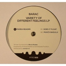 BARAC VARIETY OF DIFFERENT FEELINGS LP MTRZ003
