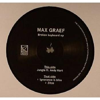 Max Graef - Broken Keyboard EP - Heist Recordings