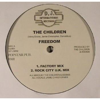 THE CHILDREN -  FREEDOM - DJ INTERNATIONAL
