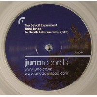 THE DETROIT EXPERIMENT - THINK TWICE - HENRIK SCHWARZ  REMIXES - JUNO