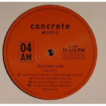 VARIOUS ARTIST - TEXTURES 4AM - CONCRETE 4AM