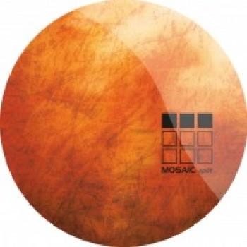 Ed Davenport / Ozka / Aubrey - MOSAIC SPLIT SERIES: THREE (ORANGE MARBLED VINYL) Mosaicsplit 03